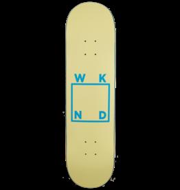 """WKND Logo Board Deck - Cream - 8.1"""" x 31.625"""" x 14.125"""" WB"""