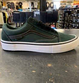 Vans Vans Old Skool Pro Skate Shoes - Trekking Green/Black
