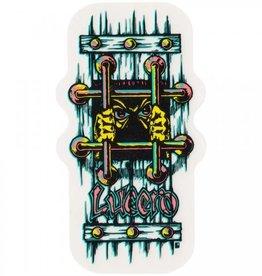 Black Label Black Label Lucero OG Bars Sticker  Large - Assorted Colors