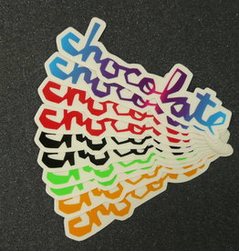 "Chocolate Chocolate Chunck 5"" Sticker - Assorted Colors"