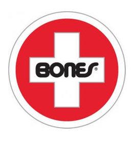 """Bones Bones Swiss Round Sticker 1.75"""""""
