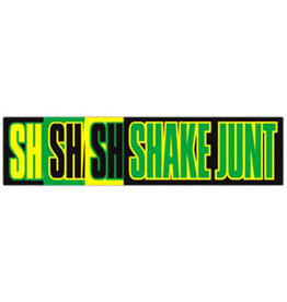 "Shake Junt Shake Junt Mainline Logo Sticker - 5.75"" x 2.5"""