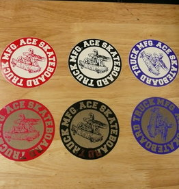 "Ace Trucks Ace Trucks Sticker-Round- 2.5"""