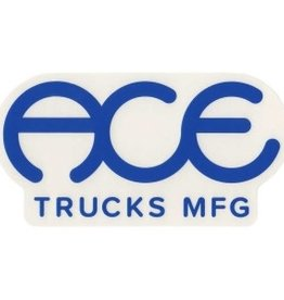 "Ace Trucks Ace Trucks Sticker-Oblong- 4"""