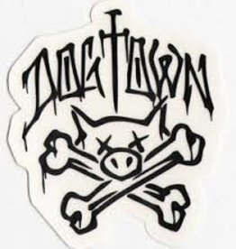 Dogtown Dogtown Pig and Crossbones Sticker