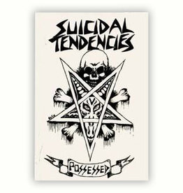 Suicidal Skates Suicidal Tendencies Possessed Sticker - White