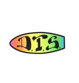 "Dogtown Dogtown DTS Sticker 2"" - Neon"