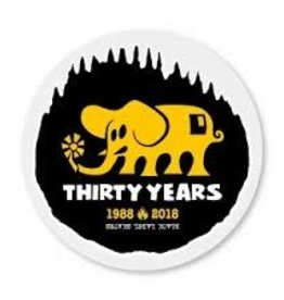 Black Label Black Label Thirty Years Sticker - Assorted Colors