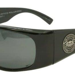 Black Flys Black Flys Fly Ballistics Polarized Sunglasses - Matte Black w/ Smoke Lens