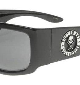 Black Flys Black Flys Sullen Fly 3 Sunglasses - Shiny Black Smoke Lens
