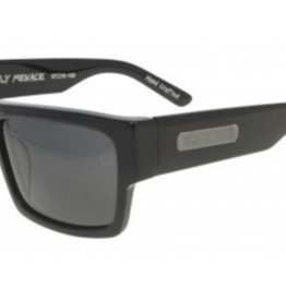 Black Flys Black Flys Fly Menace Sunglasses - Matte Black Smoke Lens