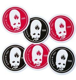 Black Label Black Label Thumbhead Sticker - Assorted Colors