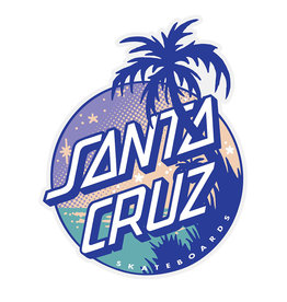 Independent Santa Cruz Palm Dot Sticker Multi 3.125 in x 3.96 in