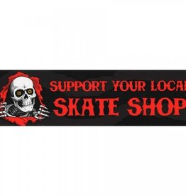 Powell Peralta Powell Peralta Support Your Local Skate Shop Sticker