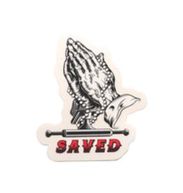 "Ace Trucks Ace Trucks Saved Sticker 4"""