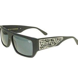 Black Flys Black Flys Scifly 6 Sunglasses - Shiny Black Smoke Lens