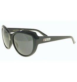 Black Flys Black Flys Kissy Fly Sunglasses - Shiny Black w/ Smoke Grad Lens