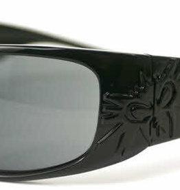 Black Flys Black Flys Sonic Fly 2 Floating Polarized Sunglasses - Shiny Black Smoke Lens