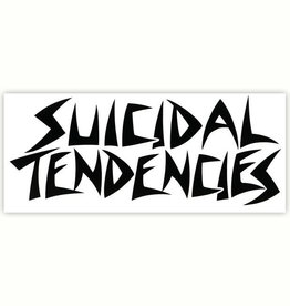 "Suicidal Skates Suicidal Tendencies Sticker 6.5"" - White"