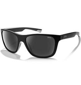 Zeal Zeal Radium Sunglasses - Black Matte/Dark Grey
