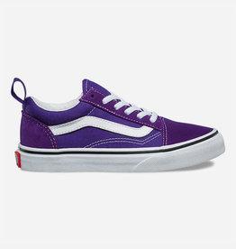 Vans Vans Youth Old Skool Elastic Shoes - Heliotroper/True White