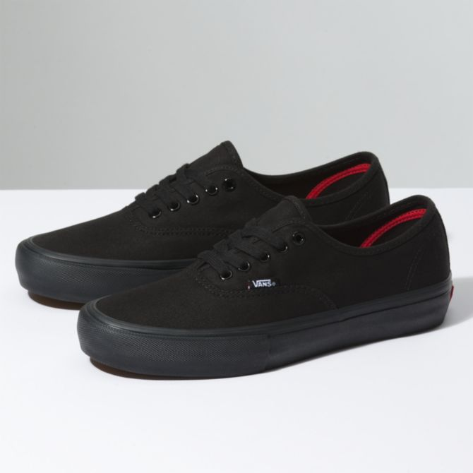 Vans Vans Authentic Pro Skate Shoes - Black/Black