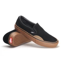 Vans Vans Slip On Pro Skate Shoes - Rubber/Black/Gum