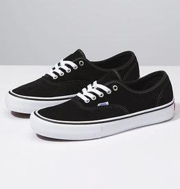 Vans Vans Authentic Pro Skate Shoes (Suede) - Black