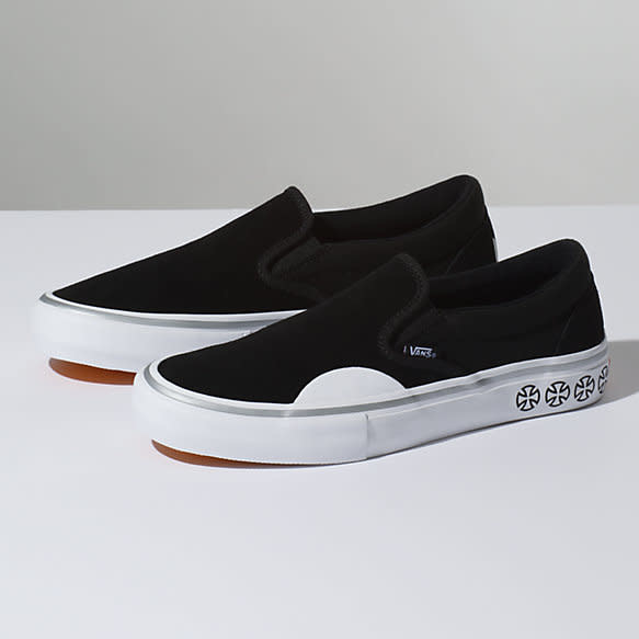 vans slip on skateboard