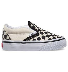 Vans Vans Toddler Classic Slip-On Shoes - Checker Black/White
