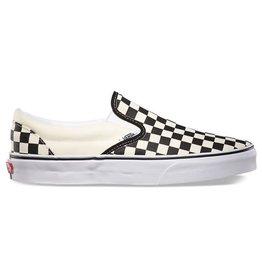 Vans Vans Kids Classic Slip-On Shoes - Checker Black/White