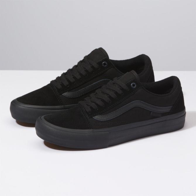 Vans Vans Old Skool Pro Skate Shoes - Blackout