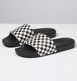 Vans Vans Slide On Sandal Shoes - Checkerboard White -