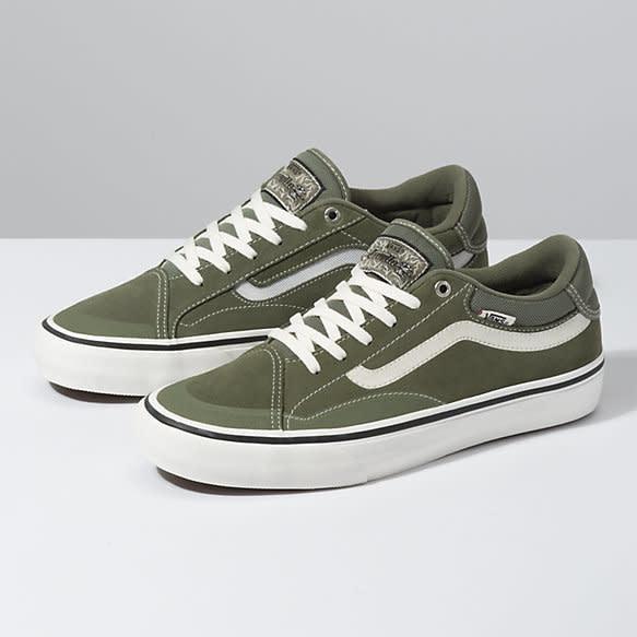 Vans Vans TNT Advanced Pro Skate Shoes - Green/Marshmallow