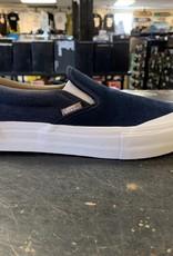 Vans Vans Slip On Pro Skate Shoes - (Twill) Drs Bl/Portabella