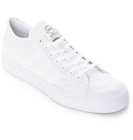 Adidas Adidas Matchcourt Canvas Skate Shoes- White/White