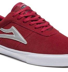 Lakai Lakai Sheffield Skate Shoes - Red/Silver Suede