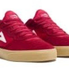 Lakai Lakai Cambridge Men's Skate Shoes - Red/Gum Suede