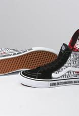 Vans Vans x Baker Sk8 Hi Pro Skate Shoes BlackWhite