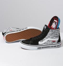 Vans Vans x Baker Sk8 Hi Pro Skate Shoes - Black/White