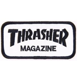 Thrasher Thrasher Logo Patch - White/Black