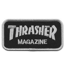 Thrasher Thrasher Logo Patch - Black/Silver
