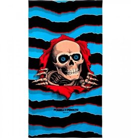 "Powell Peralta Powell Peralta Ripper Beach Towel - 36""x68"" Blue/Black"