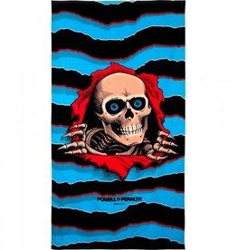 "Powell Peralta Powell Peralta Ripper Beach Towel - 36""x68"" Blue/Black"