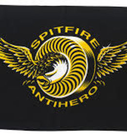 Anti Hero Spitfire X Anti Hero LTD Classic Eagle Towel Black
