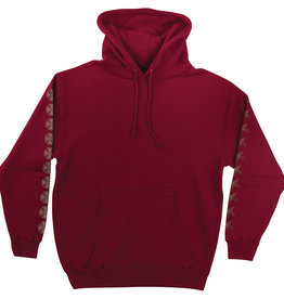 Independent Independent x Thrasher Pentagram Cross P/O Hoodie - Garnet Red