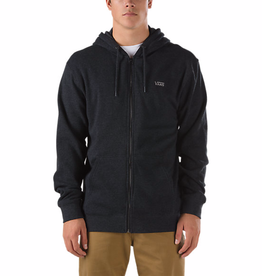 Vans Vans Core Basics Zip Hoodie - Black Heather