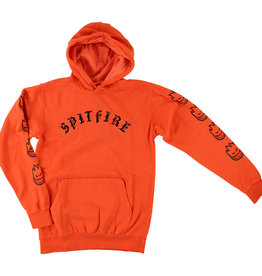 Spitfire Wheels Spitfire Bighead Pullover Hoodie - Orange/Black