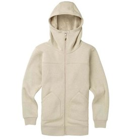 burton Snowboards 2019 Burton Women's Minxy Full-Zip Fleece Hoodie - Pelican Heather