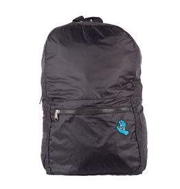 Santa Cruz Skateboards Santa Cruz Screaming Hand Packable Backpack Black